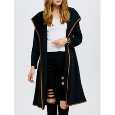 SHARE & Get it FREE | Hooded Open Front Longline CoatFor Fashion Lovers only:80,000+ Items·FREE SHIPPING Join Dresslily: Get YOUR $50 NOW!