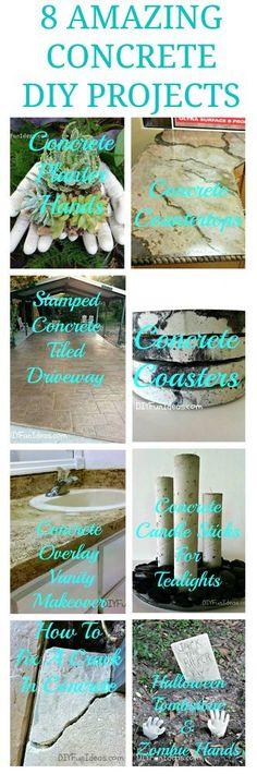 Super Easy Concrete Overlay Vanity Makeover