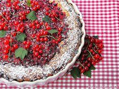 Ovocný koláč (červený rybíz) Fruit Pie, Party, Red, Cakes, Winter, Winter Time, Fruit Tart, Cake Makers, Fruit Cakes