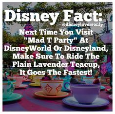 Disney facts...   idk if this one is true i need to go back n test it ;) @Sara Eriksson Rader  @Vickey Brown-Flowers Renee Rader