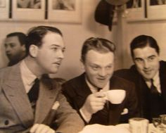 James Cagney in the WB commissary