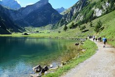 The most beautiful lakes in Switzerland - Seealpsee http://www.myhammocktime.com/2015/10/30/the-most-beautiful-lakes-in-switzerland-so-far/