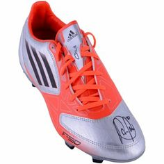 Robin Van Persie Manchester United Autographed Adidas F50 Boot 2f93a5762ba
