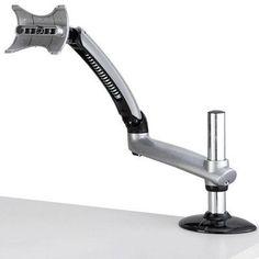 Cotytech Expandable Apple Spring Arm Height Adjustable Desk Mount Base Type: Grommet