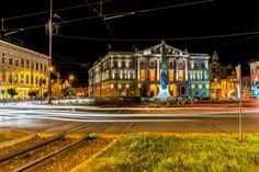 Theater building in Arad Romania, Theater, Mansions, House Styles, Building, Places, Home Decor, Decoration Home, Manor Houses