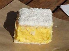 Custard Square #kiwiana Yesss.. a real custard square....