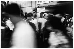 William Klein - Subway and Blur, Tokyo 1961