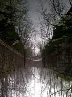 25. One of the Union Canal locks in Swatara Creek State Park.