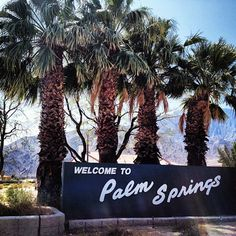 Welcome to Palm Springs! Woohoo! #roadtrip (Taken with instagram)