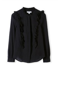 COUNTRY ROAD Frill Detail Shirt