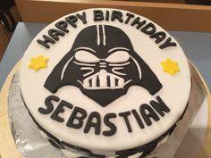 Make me a cake Darth Vader cake tutorial Decorating cake