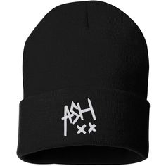 Ashton irwin ash xx 5 seconds of summer sweatshirt 5 sos music tour... ($18) ❤ liked on Polyvore featuring accessories, hats, beanies, 5sos, long beanie, beanie hats, caps hats, summer beanie hats and summer hats