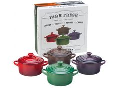 Le Creuset Mini Cocottes (Set of Four) from Joanne Weir on OpenSky