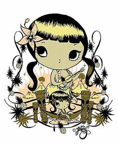 Misery. Art Illustrations, Illustration Art, Nz Art, I Tattoo, Cool Art, Bedroom Ideas, Creatures, Artwork, Quotes