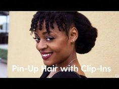 TOP 6 Quick & Easy Natural Hair Updos Natural hair updos get so much of love because its versatility Natural Hair Updo, Natural Hair Styles, Long Hair Styles, Twist Hairstyles, Cool Hairstyles, Wedding Hairstyles, Hairstyle Ideas, Protective Hairstyles For Natural Hair, Simple Bridesmaid Hair