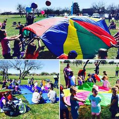What a great day as we kicked off the second year of #StoriesInThePark, taking #storytimes and activities out to local #CityParks.  About 90 parents & kids came out to enjoy #dancing, #Stories, #songs, and even playing with the #parachutes.  Who doesn't love having fun with #parachutes? #AbilenePublicLibrary #Parks #Outdoors #Families #Parents #Kids #Fun #Active #Silly #Program #Event #Activities