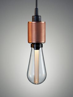 bulb, light, redesign, copper look. Buster + Punch Luanch World's First Designer LED Bulb