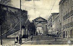 Lisboa de Antigamente: Arco de S. Bento