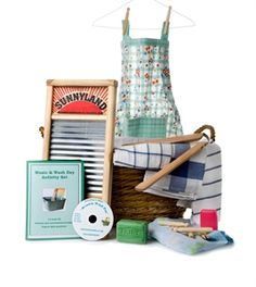 Picture of Wash Day Reminiscence Basket