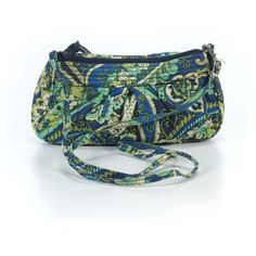 Pre-owned Vera Bradley Crossbody Bag: Dark Blue Women's Bags ($22) ❤ liked on Polyvore featuring bags, handbags, shoulder bags, dark blue, vera bradley handbags, handbags shoulder bags, blue shoulder bag, vera bradley purses and shoulder handbags