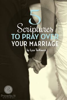 Determine to pray more words over your marriage than you speak about your marriage - 5 Scriptures that will help! this is good!