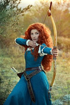 MERIDA from Brave + Once Upon a Time Cosplay by MOGU cosplay