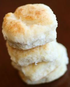 Biscuits BISCUITS BISCUITS!!!!!! the south is full of them so to be a southerner you have to eat like a southerner, biscuits and butter, OOOHHHH YAAAAY