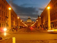 """""""Smooth Night"""" Student Photo in Rome, Italy"""