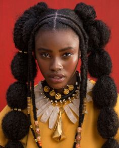 funnyman's whore – 💫mina nanginya💫 – worldwidefashion: 'CROWNING GLORY' Reabetswe Fila… – Portrait Inspiration, Hair Inspiration, Character Inspiration, Pretty People, Beautiful People, Fotografie Portraits, Curly Hair Styles, Natural Hair Styles, Black Girl Aesthetic