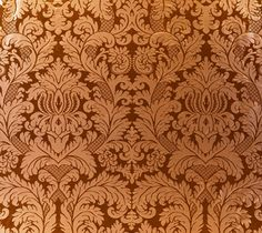 Design 792 The Marlborough Damask,  17c  Italian/Baroque - would like this wallpaper pattern in a foyer