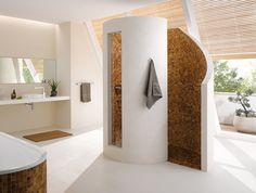 Poresta® Helical shower - Home Page Rustic Bathroom Designs, Bathroom Design Luxury, Modern Bathroom, Toilette Design, Casa Clean, Diy Bathroom Remodel, Suites, Dream Bathrooms, Bathroom Inspiration