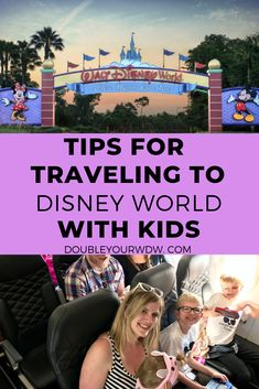 Learn the tips and tricks for traveling with small children. If you are driving … – baby supplies pin Disney World Parks, Disney World Planning, Walt Disney World Vacations, Disney Trips, Disney Travel, Toddler Travel, Travel With Kids, Family Travel, Disneyland Tips