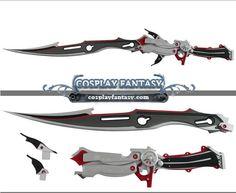 FF13 Final Fantasy 13 Lightning Gunblade Sword Cosplay 1
