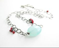 Geisha's Dream One of a Kind Necklace by Beth Hemmila of Hint Jewelry #Asian #Stones #BarNecklace
