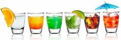6 Schnapsgläser Tequilagläser Klar Gläser Schnapsglas Stamper Shots Wodka Barrel  | eBay
