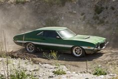 This 1972 Gran Torino became an movie star in 2008 when it was featured in the movie of the same name, Gran Torino. The 72' Torino also appeared in the movie, Fast and Furious, the next year in 2009!