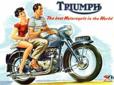 Triumph Motorcycles TR 650 The Best In 1956