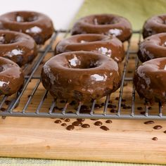 Chocolate Guinness Donuts from @Sweet Twist of Blogging