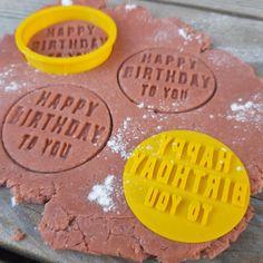 Happy Birthday Embosser Stamp happy birthday cookie cutter | Etsy Number Cookie Cutters, Cookie Cutter Set, Custom Cookie Cutters, Custom Cookies, Happy Birthday Cookie, Birthday Cookies, Personalized Cookies, Price Of Stamps, Logo Cookies
