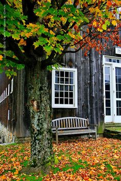 Grafton, Vermont autumn scene #travel #vermont #usa
