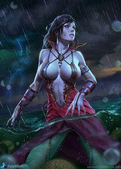 Rain Godness_Normal by Verehin on deviantART