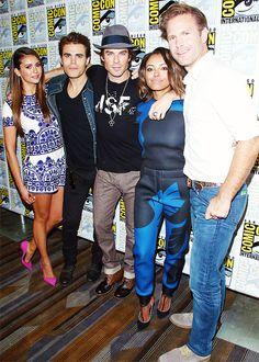 TVD CAST at Comic Con 2014