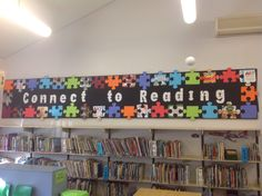 Connect to Reading Book Week 2014 display