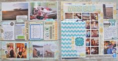 From Michelle. Love the chevron bag used to hold extra 4x6 photos!!