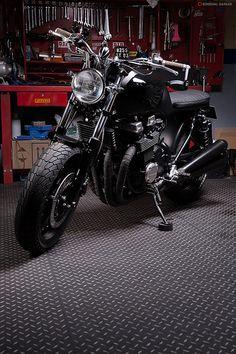 JeriKan Motorcycle #5, 1993 Honda CB750 http://goodhal.blogspot.com/2013/03/jerikan-motorcycle-5.html #1993AD #CB750 #Honda #JeriKanMotorcycle #Motorcycle