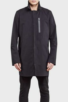 ISAORA Mac Coat Black