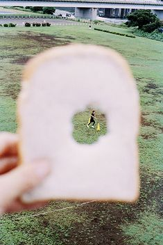 Through bread | @hannahoverbeek