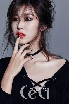 SECRET Hyosung Ceci magazine december 2015 photos