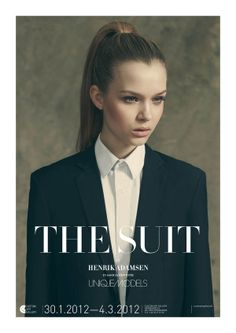 The Suit by Henrik Adamsen, via Behance