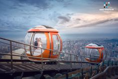 Romance On Peak,Canton,China. by Kenny Wind on A top the Canton tower. Engagement Photography, Engagement Photos, Canton Tower, Canton China, Overseas Chinese, Visit China, New Tricks, Photo Studio, All Over The World